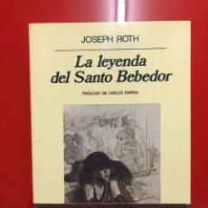 Libros: LA LEYENDA DEL SANTO BEBEDOR. Lote 182838778