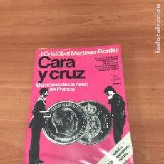 Libros: CARA Y CRUZ. Lote 183894020