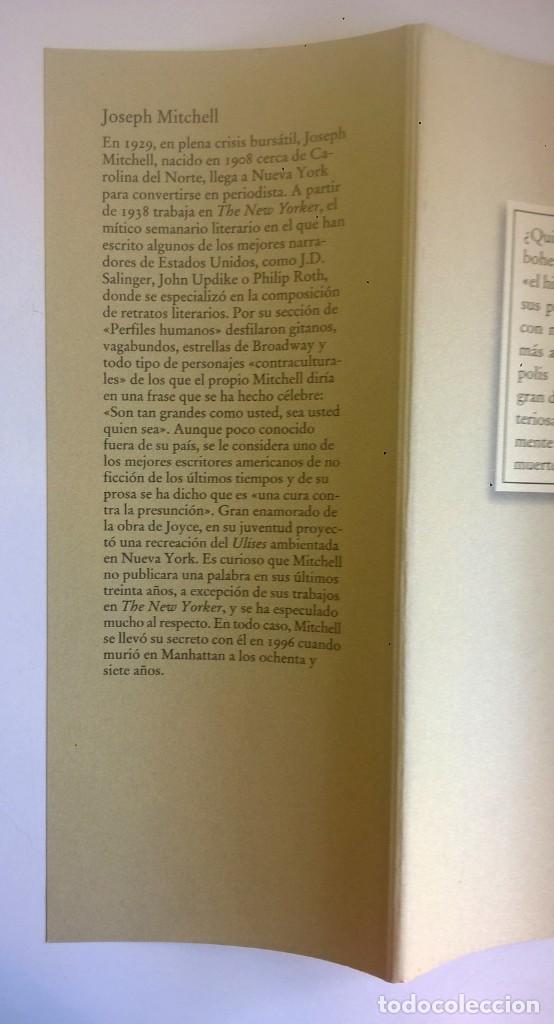 Libros: EL SECRETO DE JOE GOULD,DE JOSEPH MITCHELL - CÍRCULO DE LECTORES - AÑO 2000 - LIBRO NUEVO - Foto 17 - 184410402