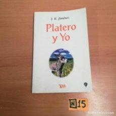 Libros: PLATERO Y YO. Lote 184491600