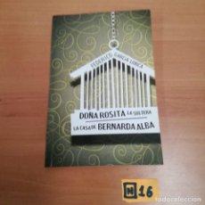 Libros: DOÑA ROSITA LA SOLTERA. Lote 184497085