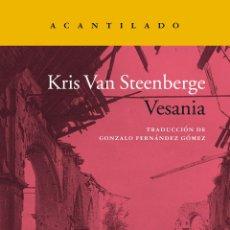Libros: VESANIA. KRIS VAN STEENBERGE.. Lote 184744302