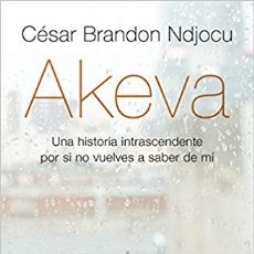 Libros: CÉSAR BRANDON NDJOCU .-AKEVA . Lote 184887201