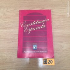 Libros: CONSTITUCIÓN ESPAÑOLA. Lote 186011340