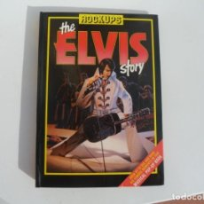 Libros: DESPLEGABLE DE ELVIS PRESLEY. ROCKUPS THE ELVIS STORY-MUSICAL POP-UP BOOK.1985. Lote 186762798