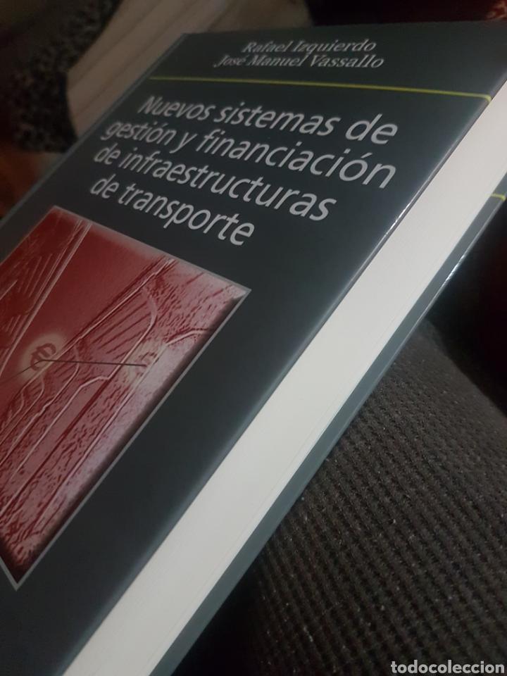 Libros: Nuevos sistemas de gestión y financiación de infraestructuras de transporte, de Izquierdo y Vasallo. - Foto 3 - 188823387