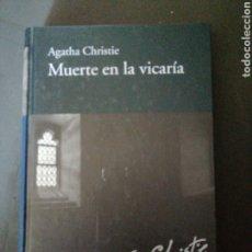 Libros: MUERTE EN LA VICARIA., AGATHA CHRISTE. Lote 190074100