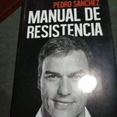 Libros: MANUAL DE RESISTENCIA , PEDRO SANCHEZ. Lote 190625073