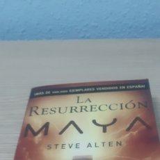 Libros: LIBRO LA RESURRECCION MAYA STEVE ALTEN. Lote 192927400