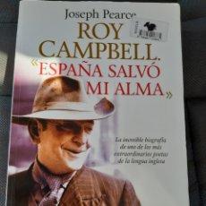 Libros: LIBRO ESPAÑA SALVO MI ALMA (ART. NUEVO) 1° EDICIÓN. Lote 192969586