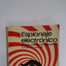 Libros: ESPIONAJE ELECTRÓNICO. REDE EDICIONES. Lote 194188967