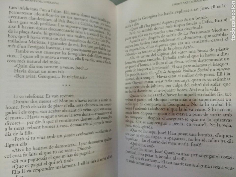 Libros: Els amants del ciberespai - Foto 3 - 196017787