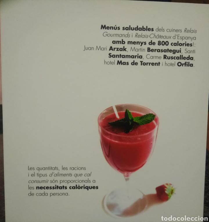 Libros: Gastronomía saludable en catalán ( libro de recetas ) - Foto 3 - 196019157