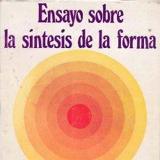 Libros: ENSAYO SOBRE LA SINTESIS DE LA FORMA - ALEXANDER, CRISTOPHER. Lote 196091298