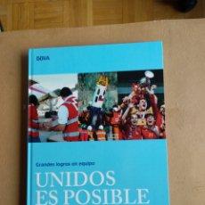 Libros: GRANDES LOGROS EN EQUIPO. Lote 196576475