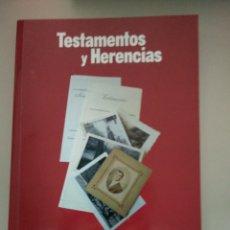 Libros: TESTAMENTO Y HERENCIAS. Lote 197929252
