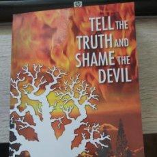Libros: TELL THE TRUTH AND SHAME THE DEVIL GERARD MENUHIN THE BARNES REVIEW 2015 - GASTOS DE ENVIO GRATIS. Lote 198614896