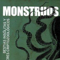 Libros: MONSTRUOS DE GUSTAVO SANCHEZ ROMERO - PRISMA PUBLICACIONES (NUEVO). Lote 198784420