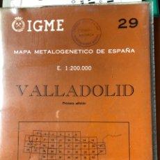 Libros: MAPA DE VALLADOLID E 1:200000. Lote 198785480