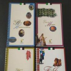 Libros: LOTE DE 4 GUIAS RUTAS HISTORICAS MUSEOS GASTRONÓMICAS Y FIESTAS. Lote 199142390