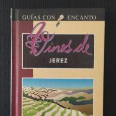 Libros: GUÍAS CON ENCANTO VINOS DE JEREZ - EL PAIS. Lote 199148205