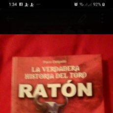 Libros: LIBRO TORO RATÓN. Lote 199175365