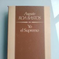 Libros: YO, EL SUPREMO - ROA BASTOS (NUEVO). Lote 199900208