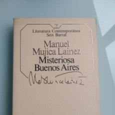 Libros: MISTERIOSA BUENOS AIRES - MUJICA LAINEZ (NUEVO). Lote 199900387