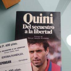 Libros: QUINI, DEL SECUESTRO A LA LIBERTAD (PLANETA) (NUEVO). Lote 199905648