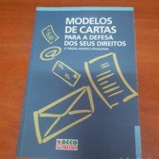 Libros: LIBRO CARTAS MODELO PARA LA DEFENSA DE SUS DERECHOS EN PORTUGUES. Lote 200399847