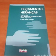 Libros: LIBRO TESTIMONIOS Y HERENCIAS. Lote 200400163