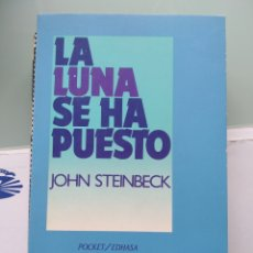Libros: JOHN STEINBECK - LA NUNA SE HA PUESTO (NUEVO). Lote 201845796