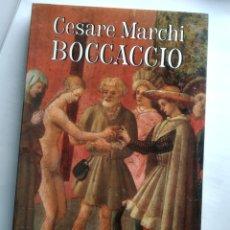 Libros: CESARE MARCHI - BOCCACCIO (NUEVO). Lote 201852441