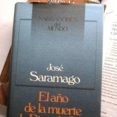 Libros: JOSÉ SARAMAGO - EL AÑO DE LA MUERTE DE RICARDO REIS (NUEVO). Lote 201852490