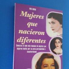 Libros: LIBRO / MUJERES QUE NACIERON DIFERENTES / ANA RIERA / MANONTROPPO 2015. Lote 201926505