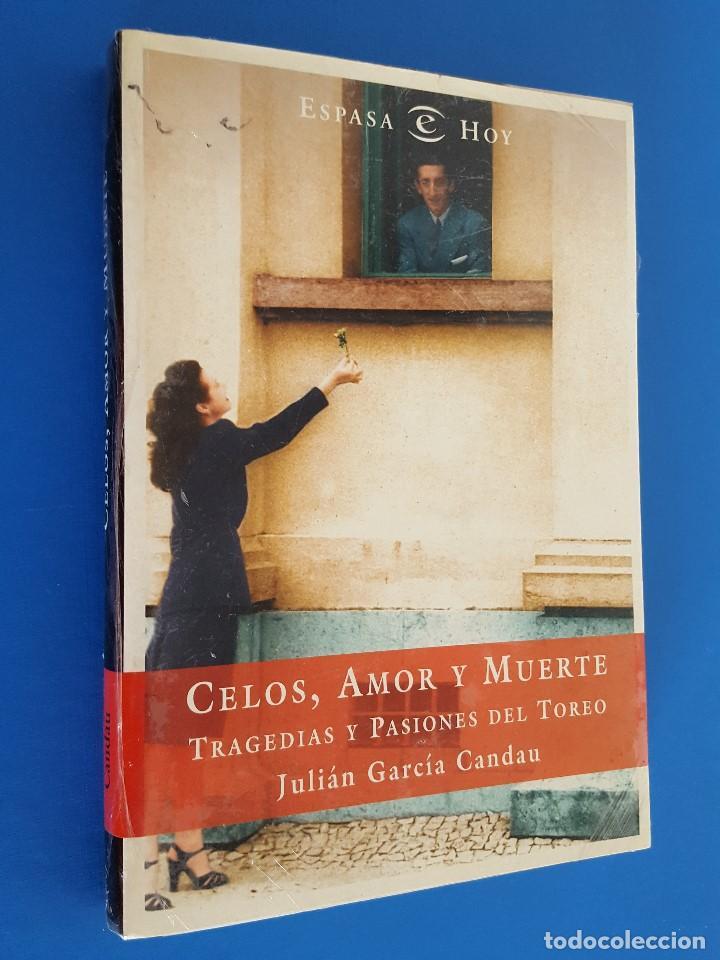LIBRO / CELOS, AMOR Y MUERTE / JULIAN GARCIA CANDAU / ESPASA, NUEVO Y PRECINTADO (Libros nuevos sin clasificar)