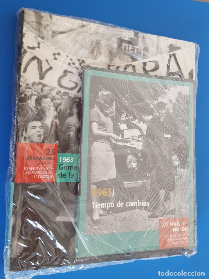 LIBRO+DVD / EL FRANQUISMO AÑO A AÑO Nº 23 1963 (Libros nuevos sin clasificar)