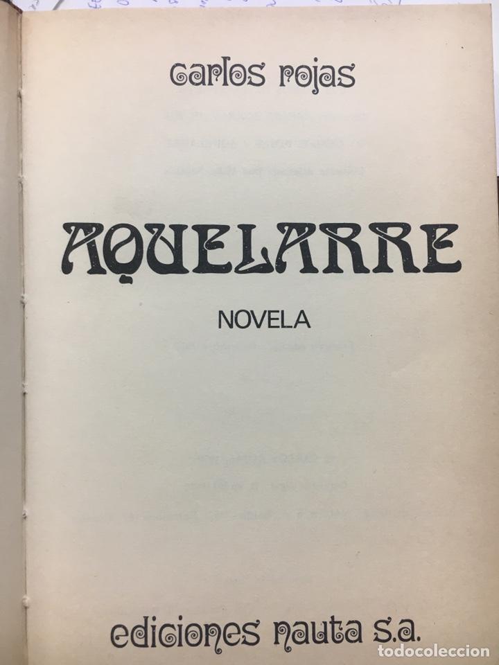 Libros: Aquelarre 1edicion Carlos Rojas - Foto 2 - 202929413
