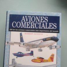 Libros: AVIONES COMERCIALES - ROBERT JACKSON (NUEVO). Lote 203022090