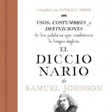 Libros: EL DICCIONARIO DE SAMUEL JOHNSON. Lote 203027285