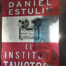 Libros: EL INSTITUTO TAVISTOCK. DANIEL STULIN. GASTOS DE ENVIO INCLUIDOS. Lote 203391655