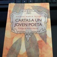 Libros: CARTAS A UN JOVEN POETA.RAINER MARIA RILKE. Lote 204237092