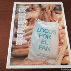 Libros: LOQUILLO LOCOS POR EL PAN LUNWERG FERRAN ADRIÀ 2013. Lote 204246786