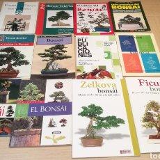 Libros: LOTE DE LIBROS BONSAI. Lote 204480080