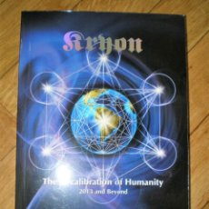 Libros: THE RECALIBRATION OF HUMANITY, DE KRYON, BOOK THIRTEEN. Lote 204716310