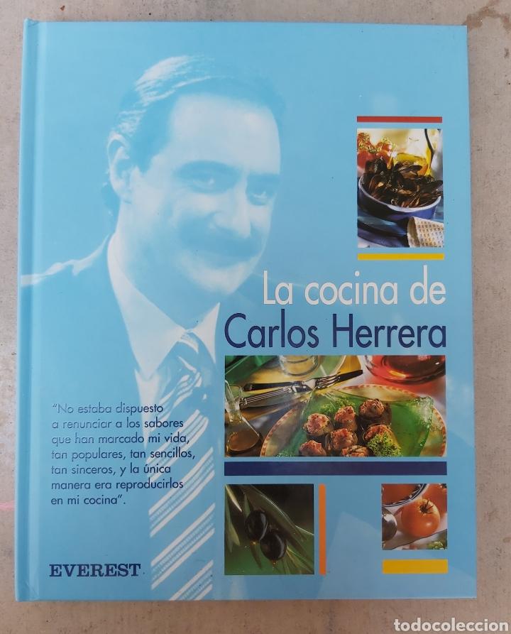 LA COCINA DE CARLOS HERRERA - EDIT EVEREST (Libros nuevos sin clasificar)