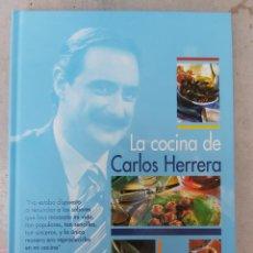 Libros: LA COCINA DE CARLOS HERRERA - EDIT EVEREST. Lote 204851162
