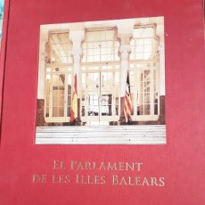 Libros: PARLAMENT ILLES BALEARS. Lote 206268180