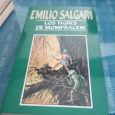 Libros: LOTE DE 9 LIBROS, EMILIO SALGARI ORBIS. Lote 206366221