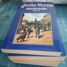 Libros: LOTE DE 5 LIBROS, JULIO VERNE. Lote 206367293